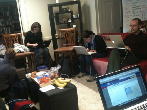 Fletcher situation room for Ushahidi Haiti
